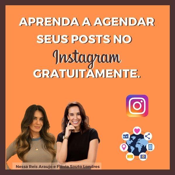 aprenda a agendar seus posts no instagram